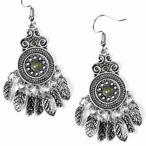 Free with Bundle Wildside Green Earrings